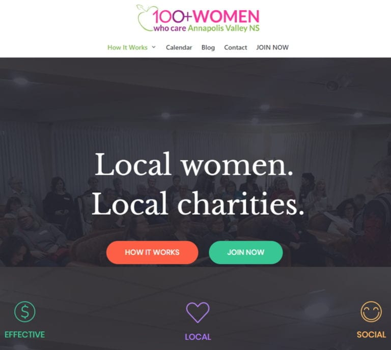 Screenshot 100womenvalley header